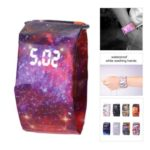 Creative Waterproof LED Paper Watch Digital Wristwatch – Random Delivery