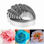 7PCs Common Peony Cookie Cutters Set