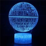 Star Wars 3D LED Night Light 7-Color Change with Remote Control